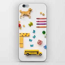 Kids' Stuff iPhone Skin
