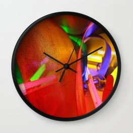 Look into the light Wall Clock