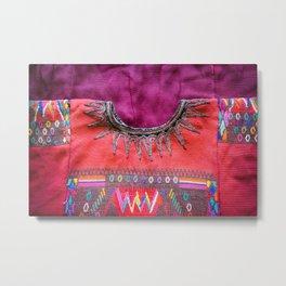Guatemala - Huipil Sunburst Metal Print