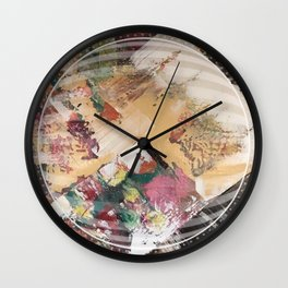 Brown - 3D Wall Clock