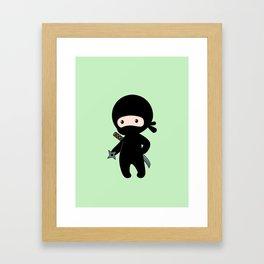 Tiny Ninja Framed Art Print