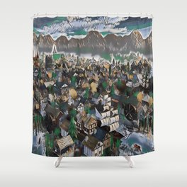 Guilds Shower Curtain