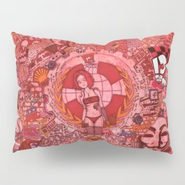 """""""The roots and fruitation of an unjust society"""" Pillow Sham"""