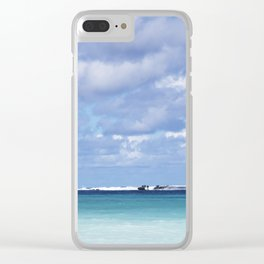 Bahamas Cruise Series 143 Clear iPhone Case