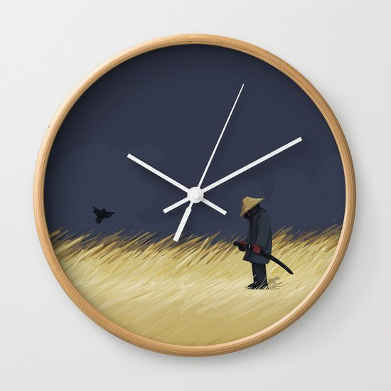 False Alarm Wall Clock