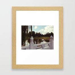 Chinese Garden Framed Art Print
