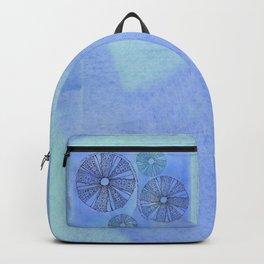 Blue Sea Urchin Backpack