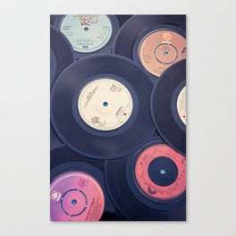 Sounds of the 70s Canvas Print
