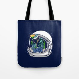 Astro Flowers Tote Bag