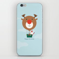 Day 13/25 Advent - Air Rudolph iPhone & iPod Skin