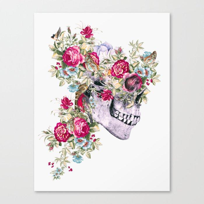 Skull VIII Canvas Print