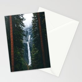 Yosemite Falls - Yosemite National Park, California Stationery Cards
