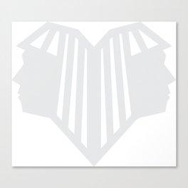 Gemini. Zodiac Signs Canvas Print