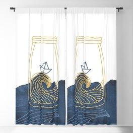 Bottled Sea Blackout Curtain