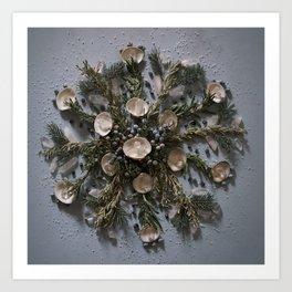 Nature Mandala: January II Art Print