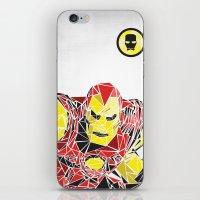 ironman iPhone & iPod Skins featuring Ironman by Josh Ln