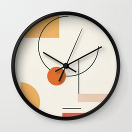 Clean Flow Geometry 6 Wall Clock