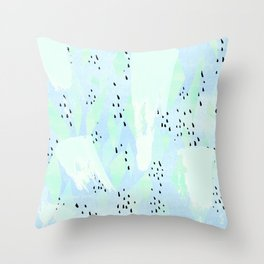 Pippa Blue Throw Pillow