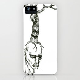 Tree Stacks iPhone Case