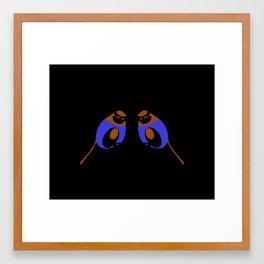 Blue Tits Framed Art Print