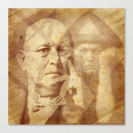 Mr. Crowley Canvas Print