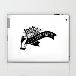 Live Love Laugh Laptop & iPad Skin