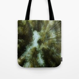 Grace Beneath The Pines Tote Bag