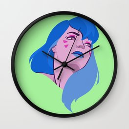 Ready for combat Wall Clock