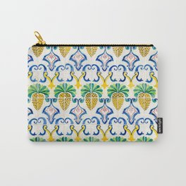 Pineapple Tiles Carry-All Pouch