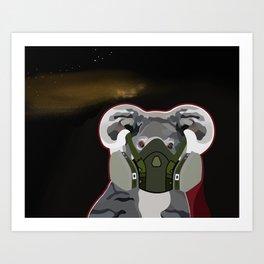 Terror Series I, Endangered IV Art Print