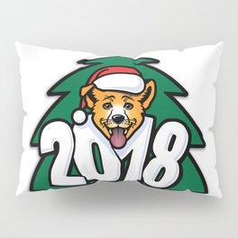 Happy New Year of Yellow Dog Pillow Sham