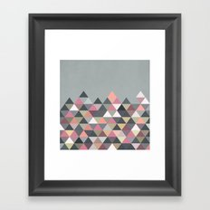 Nordic Combination 13 Framed Art Print