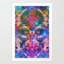 Geocosmic Art Print
