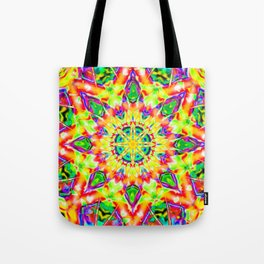 Abstract Flower AA YY B Tote Bag