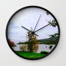 Every Leaf is a Flower - simple Wall Clock
