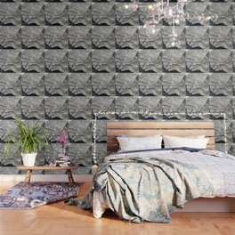 STONES SNOW NUGGET Wallpaper