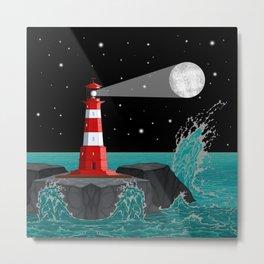 F177 Lighthouse Metal Print