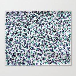 wetpattern005 Canvas Print