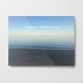 Michigan Summers Metal Print