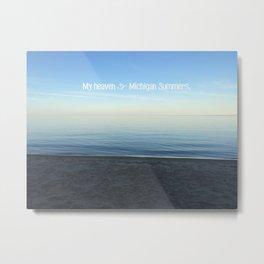 Michigan Summers Metal Print