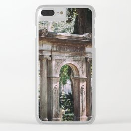 Arch at Bonaventure Cemetery Clear iPhone Case
