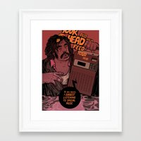 lawyer Framed Art Prints featuring Lawyer (special music) by Mikhail Kalinin