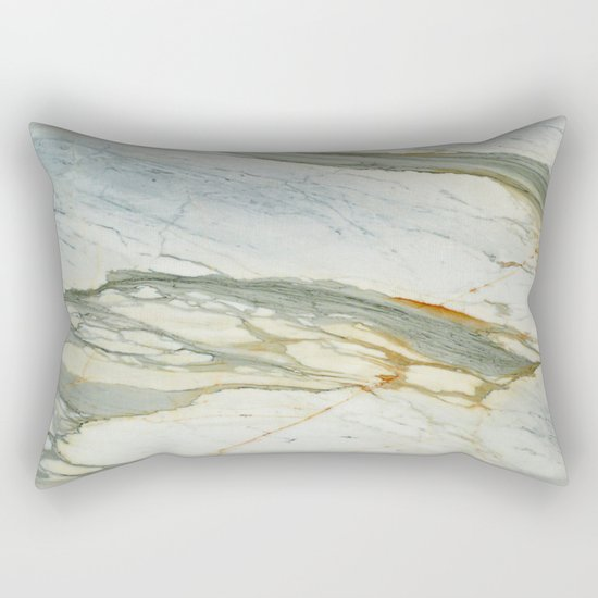 Classic Italian Marble Rectangular Pillow
