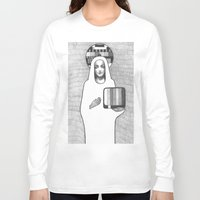madonna Long Sleeve T-shirts featuring tv madonna by Oxxygene