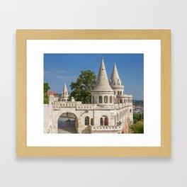 Budapest Fisherman's Bastion Framed Art Print