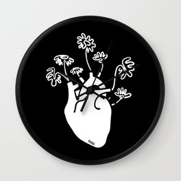 Bloomheart Wall Clock