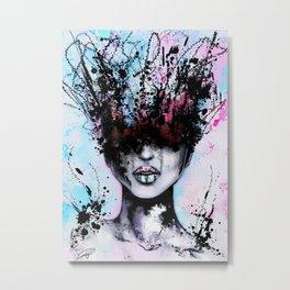 Blurred - Creative Fine Pop-Art Metal Print