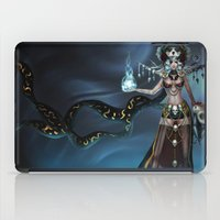 witch iPad Cases featuring Witch by Samera Tseng