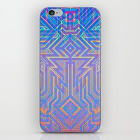 tron iPhone & iPod Skins featuring Tron-ish by Roberlan Borges