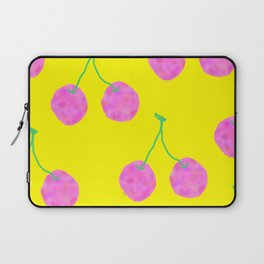 Words from Cherry - fruit love illustration wedding gift Laptop Sleeve